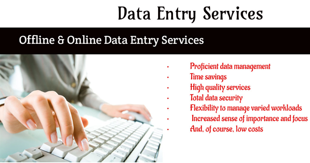 Data Entry Operations